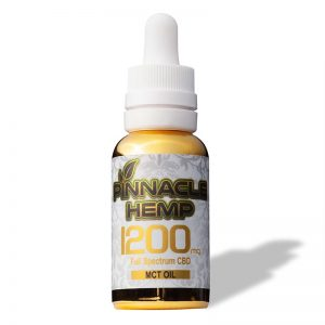 Pinnacle Hemp CBD Tincture W/ MCT